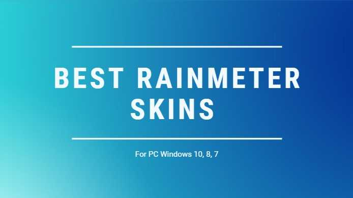Best windows 10 rainmeter skins | Best Rainmeter Skins and