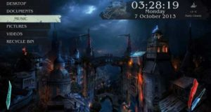 Top Rainmeter Skins (Themes) - Medieval City